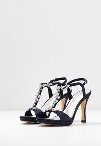 Tamaris - Højhælede sandaletter / Højhælede sandaler - navy metallic - 4
