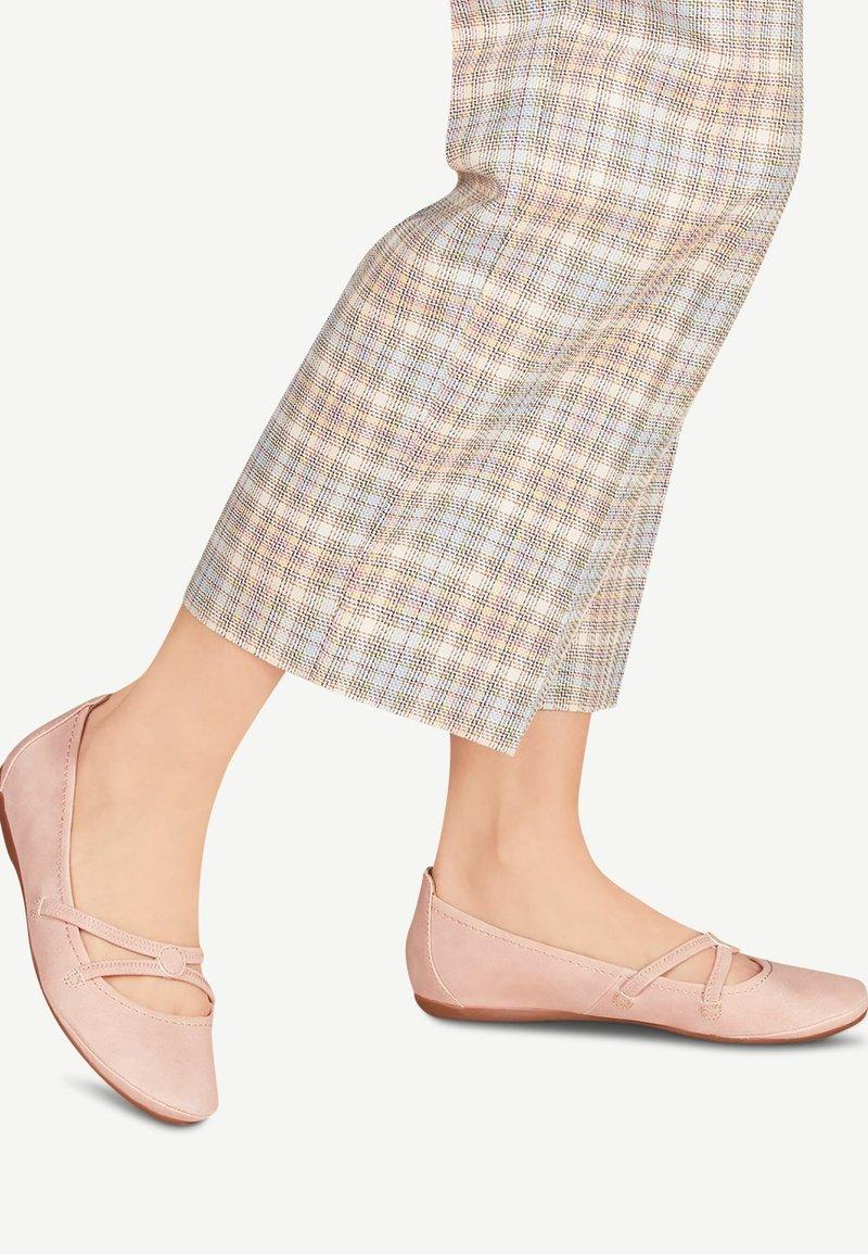 Tamaris - WOMS BALLERINA - Ballet pumps - pink