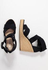 Tamaris - Korolliset sandaalit - navy - 3