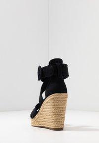 Tamaris - Korolliset sandaalit - navy - 5