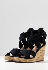 Tamaris - Korolliset sandaalit - navy - 4