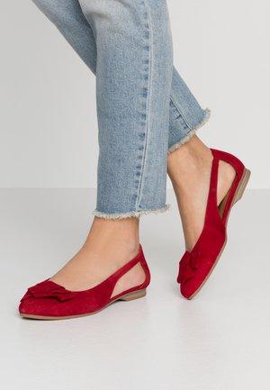 WOMS BALLERINA - Ballet pumps - rubin