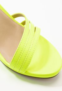 Tamaris - High heeled sandals - yellow neon - 2