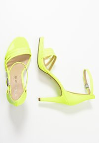 Tamaris - High heeled sandals - yellow neon - 3