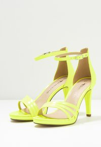 Tamaris - High heeled sandals - yellow neon - 4