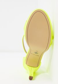 Tamaris - High heeled sandals - yellow neon - 6