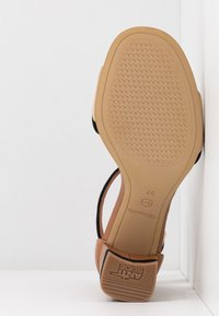 Tamaris - WOMS SANDALS - Ankle cuff sandals - cognac - 6