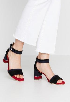 WOMS SANDALS - Ankle cuff sandals - black