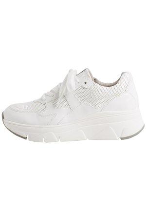 Sneakersy niskie - white patent