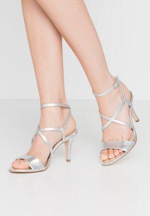 Sandalias de tacón - silver