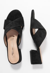 Tamaris - SLIDES - Mules - black - 3