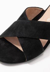 Tamaris - SLIDES - Mules - black - 2