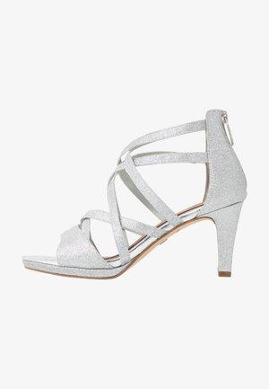Sandály - silver glam