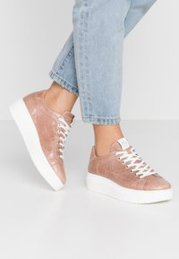 Tamaris - LACE-UP - Trainers - mauve - 0
