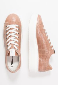 Tamaris - LACE-UP - Trainers - mauve - 3