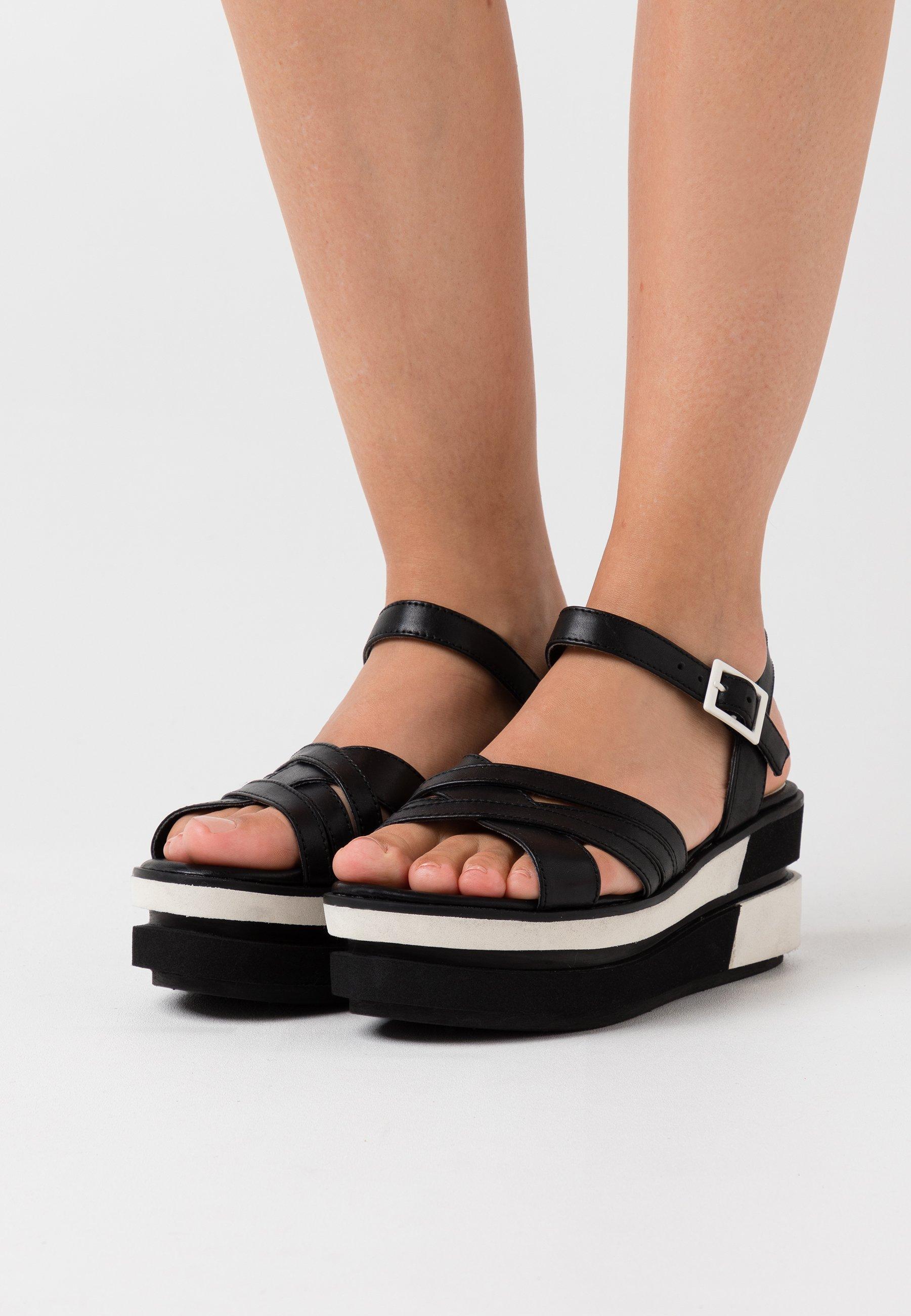 Sandales à plateforme black