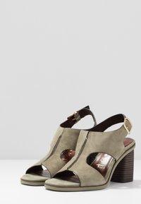 Tamaris - High Heel Sandalette - light olive - 4