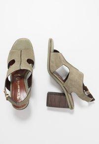 Tamaris - High Heel Sandalette - light olive - 3
