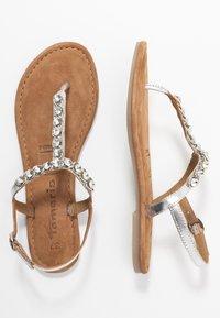 Tamaris - Sandály s odděleným palcem - silver - 3
