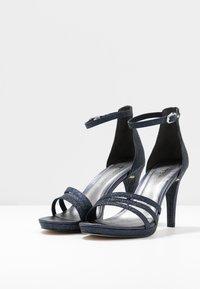 Tamaris - Sandalen met hoge hak - navy glam - 4