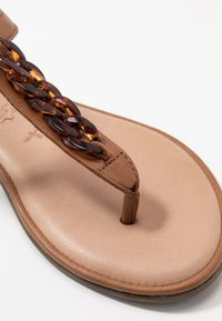 Tamaris - T-bar sandals - cognac - 2