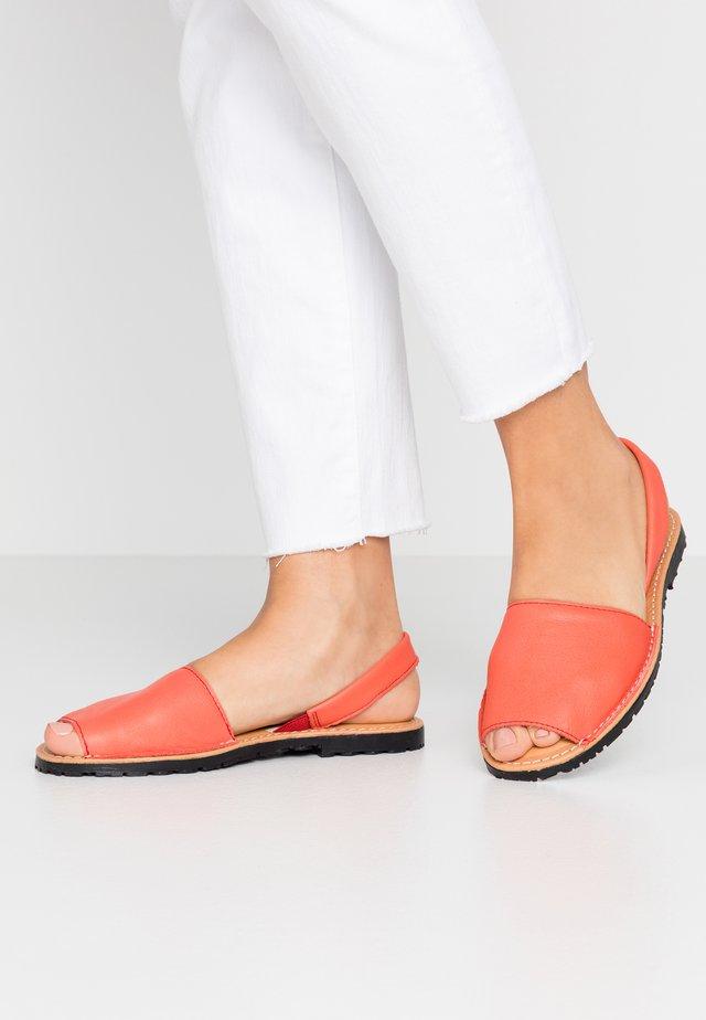 Sandały - coral