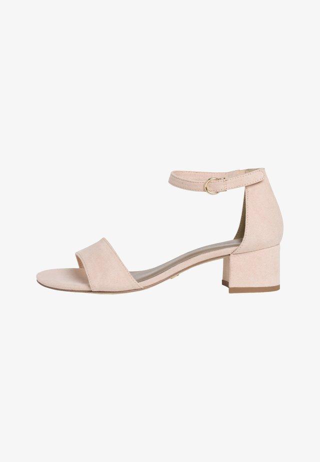 WOMS SANDALS - Sandalen met enkelbandjes - nude