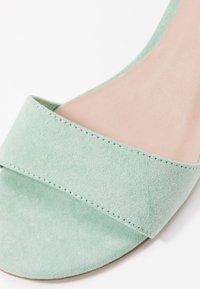 Tamaris - WOMS SANDALS - Sandaler med ankelstøtte - mint - 2