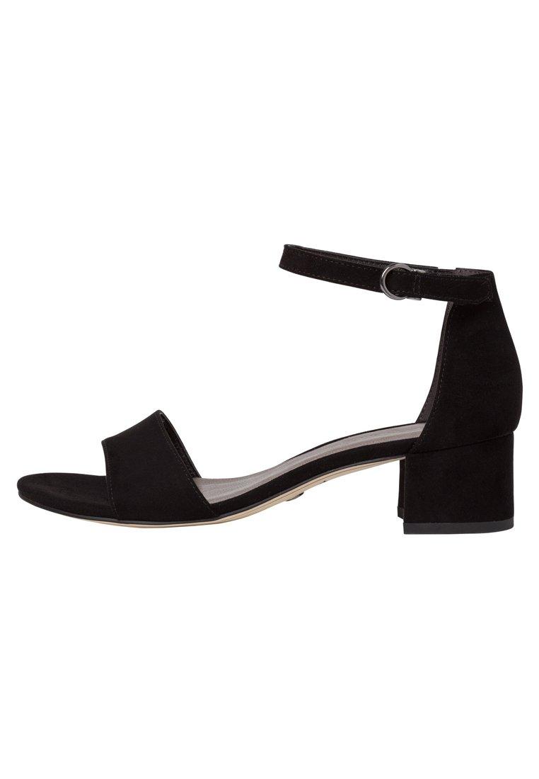 Tamaris Woms Sandals - Sandaler Med Skaft Black