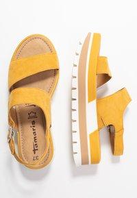 Tamaris - Platform sandals - sun - 3