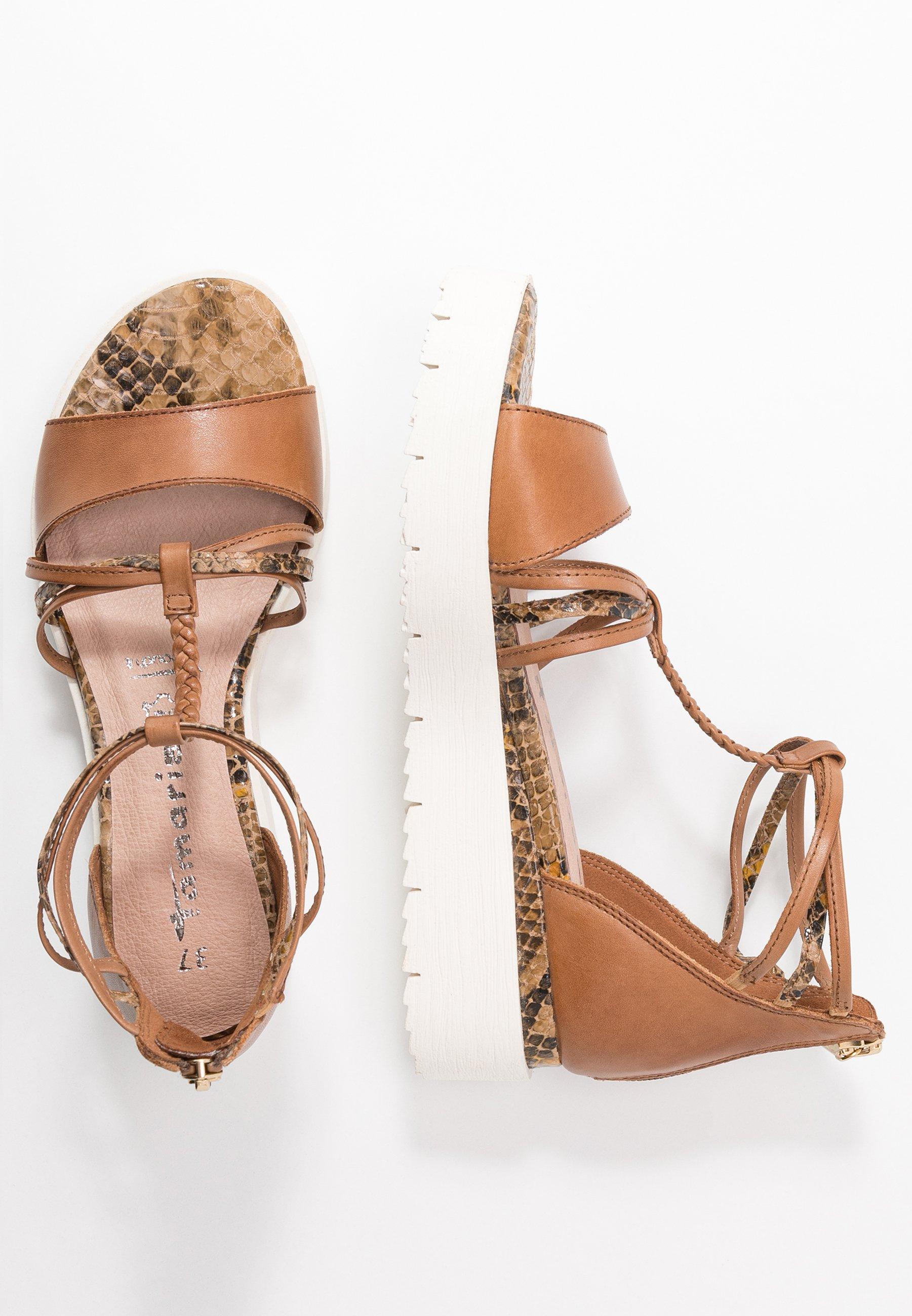 NOUVEAU TAMARIS Chaussures Femmes Plateforme-Sandales Sandale Cuir Sandale Chaussures Escarpins