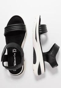 Tamaris - Wedge sandals - black - 3