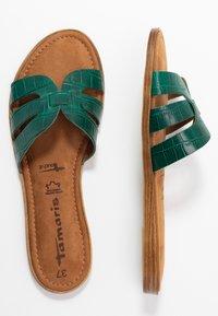 Tamaris - SLIDES - Pantofle - bottle struct. - 2