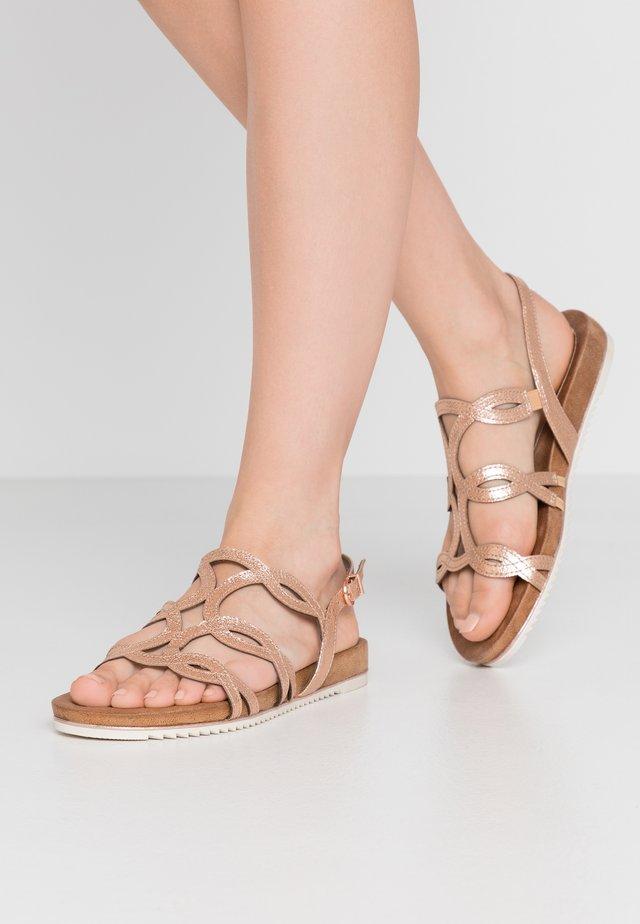 Sandalen - copper