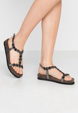 Sandalen - pewter