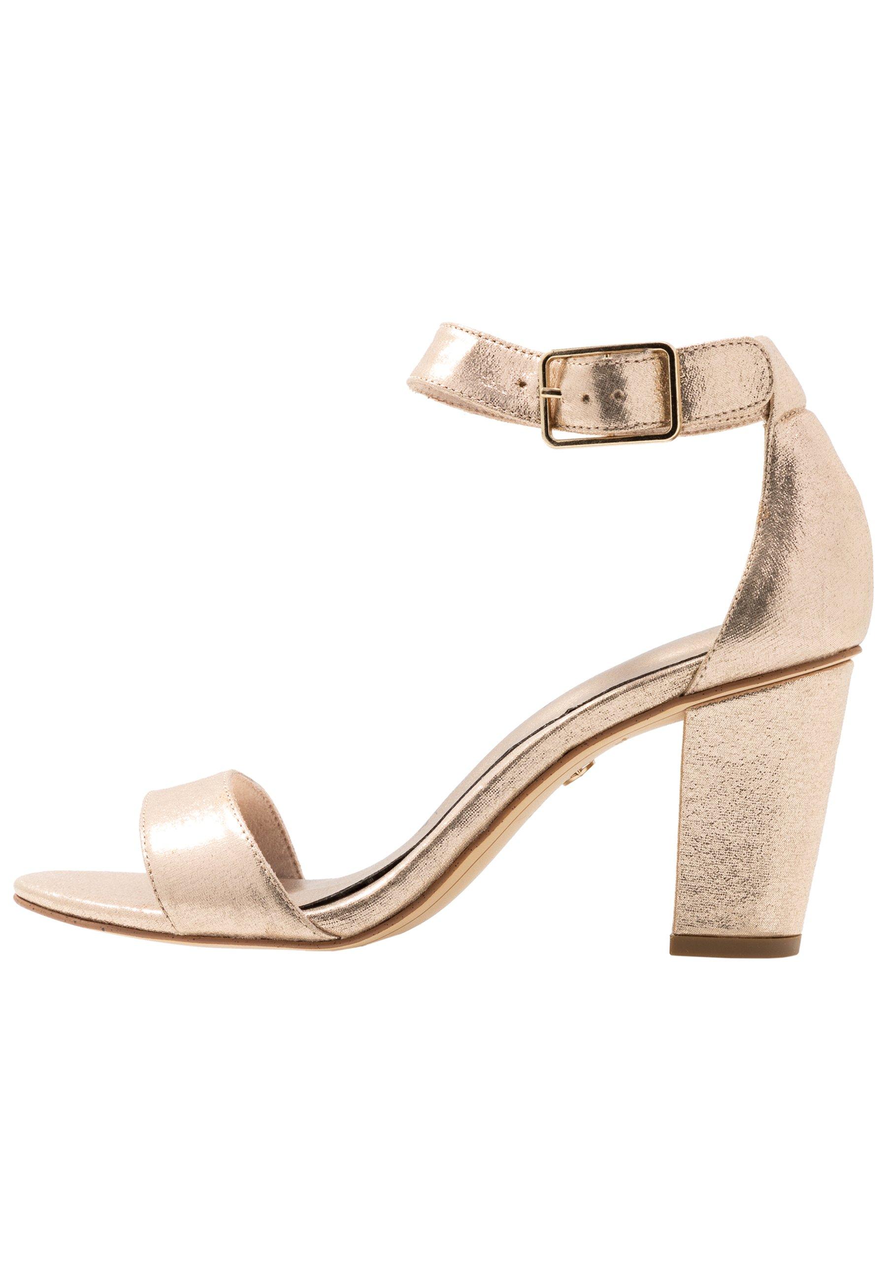 Tamaris Sandaler - champagne metallic
