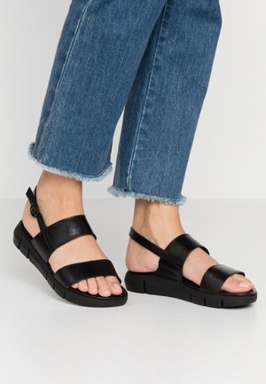 WOMS SANDALS - Walking sandals - black