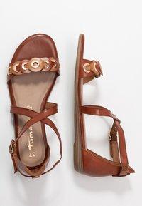 Tamaris - Sandals - brandy comb - 2