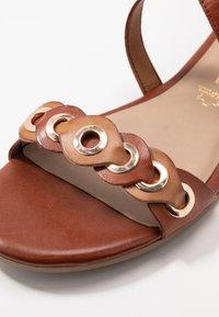 Tamaris - Sandals - brandy comb - 6