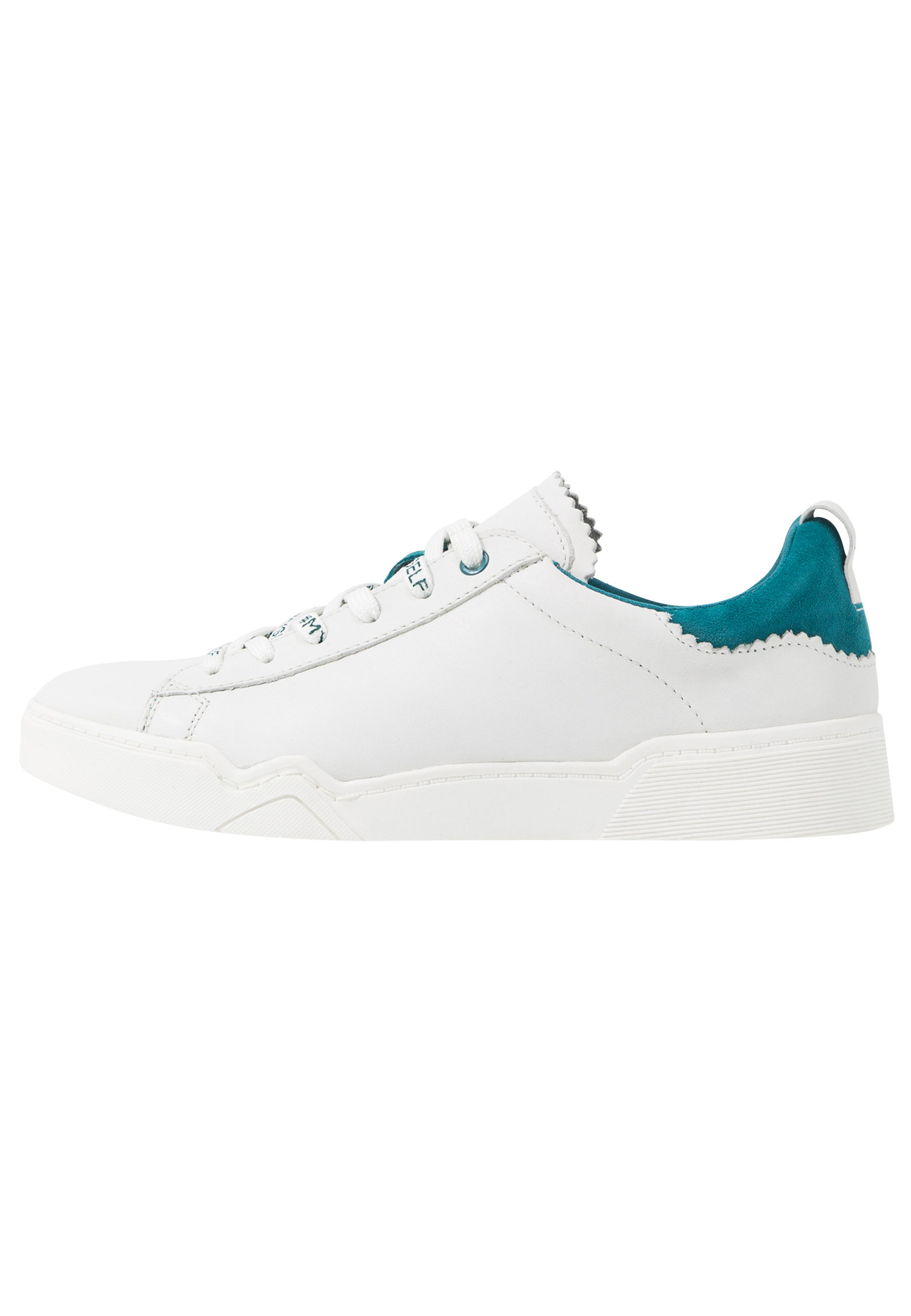 Tamaris LACE UP x MISS GERMANY KOLLEKTION - Sneakersy niskie - turquoise