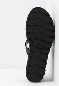 Tamaris - SABOT - Pantolette hoch - black - 6