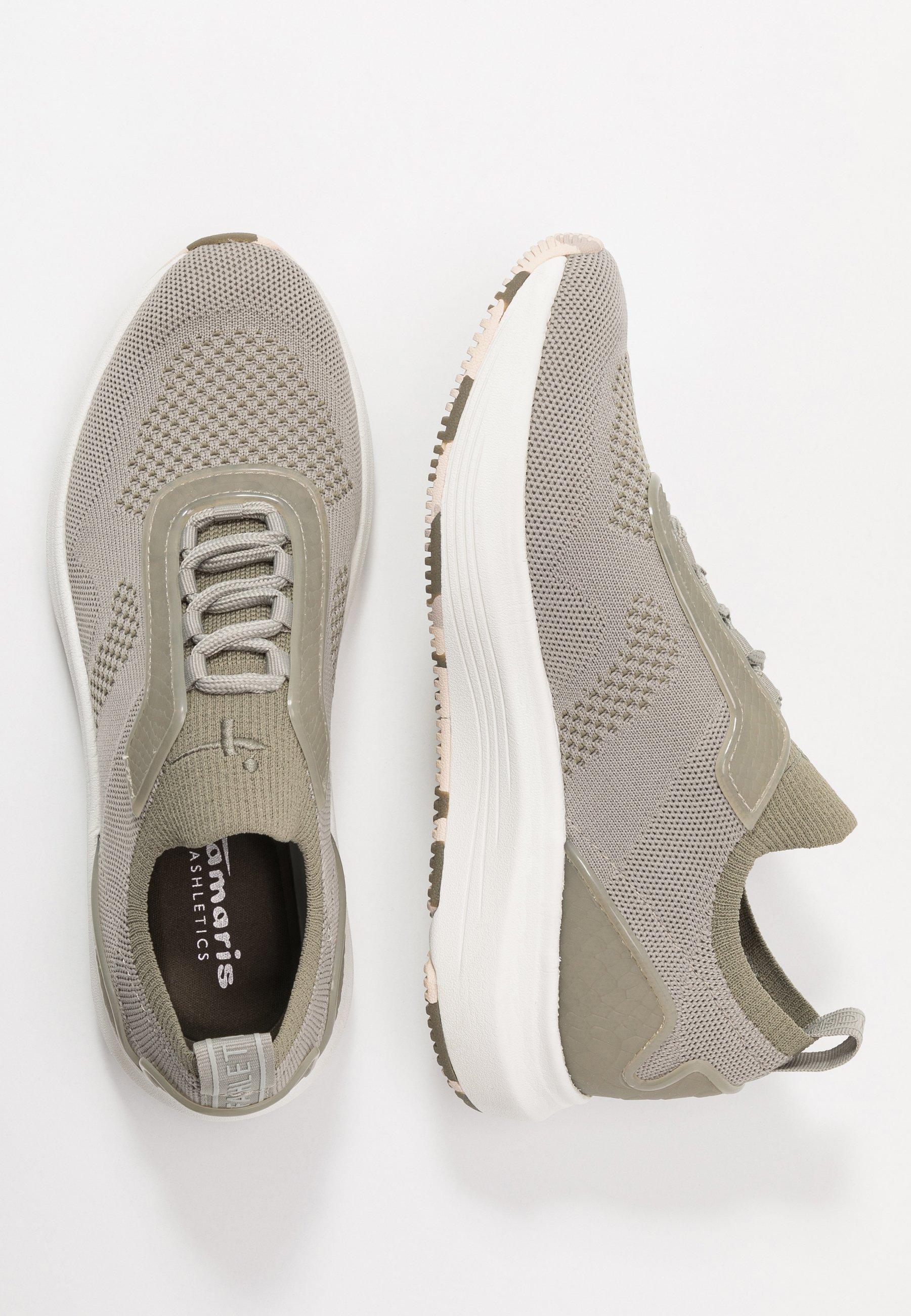 Tamaris Fashletics Lace-up - Sneakers Basse Light Olive e0ryw