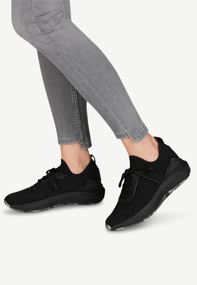 LACE-UP - Sneakers - black uni