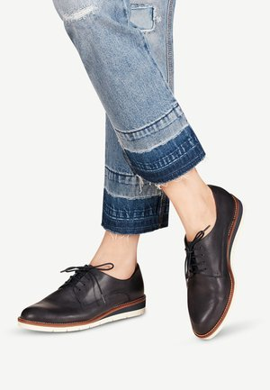 HALBSCHUH - Casual lace-ups - blue