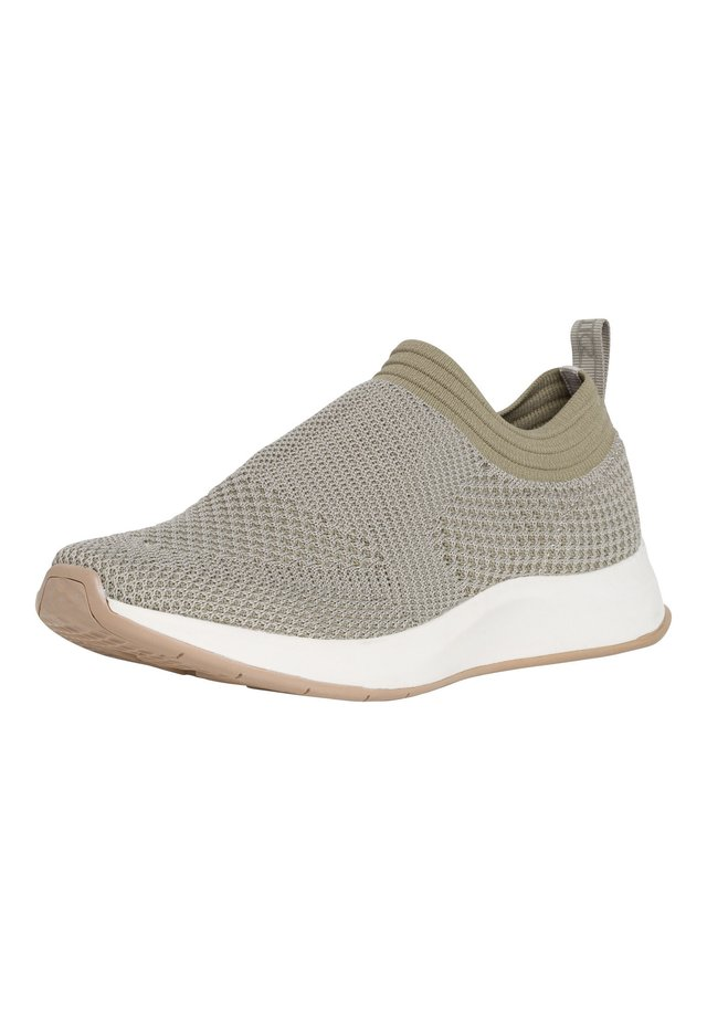 Sneakers laag - light olive