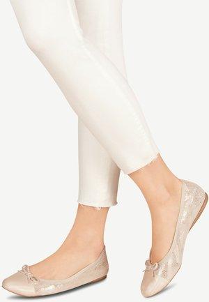 BALLERINA - Ballet pumps - beige