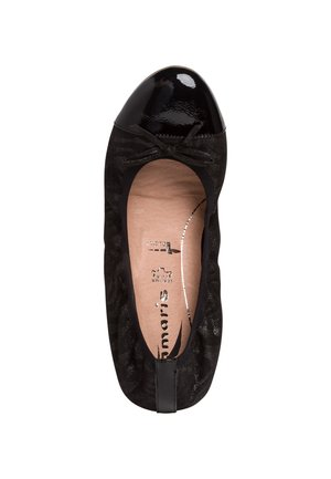 BALLERINA - Ballet pumps - black struct.