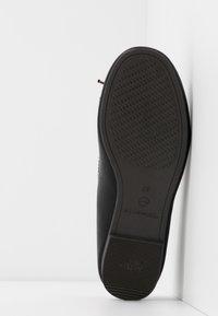 Tamaris - Ballet pumps - black matt - 6