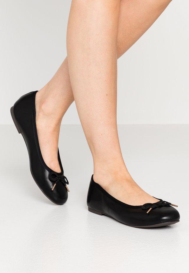 Klassischer  Ballerina - black matt