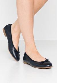 Tamaris - WOMS  - Ballet pumps - navy - 0